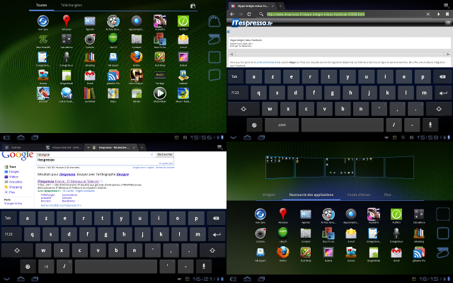 claviers Android