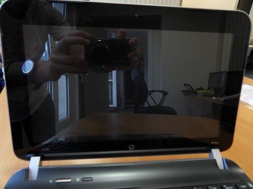 HP Mini 210 écran