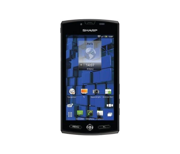 Sharp Aquos Phone 3D
