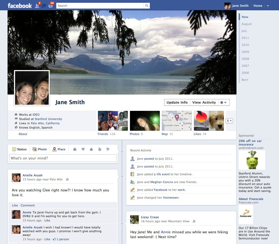 lage falsk facebook profil