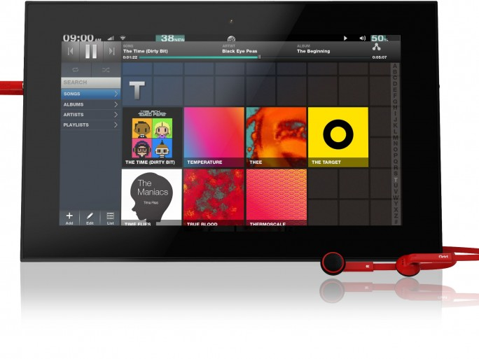 Fusion Garage tablette Grid 10