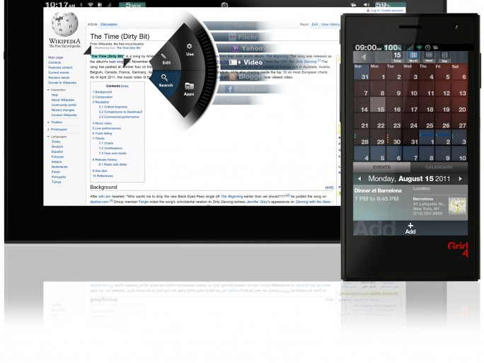 Fusion Garage Grid 10 tablette - BIG