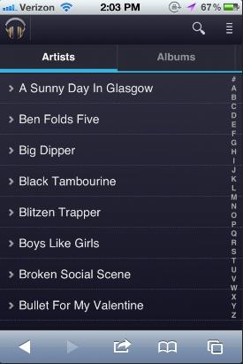 Google Music Beta iOS