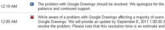 Google Drawings is out