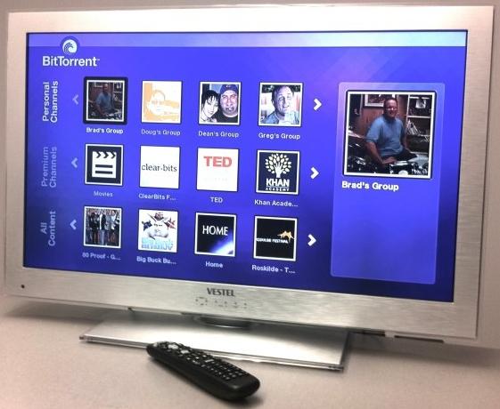 TV BitTorrent Vestel