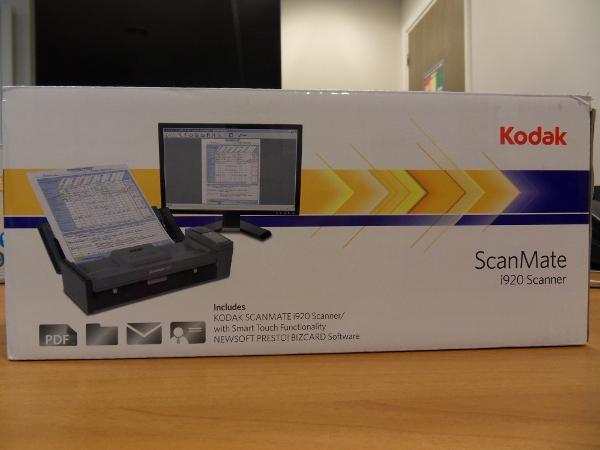 Kodak ScanMate i920 - boîte