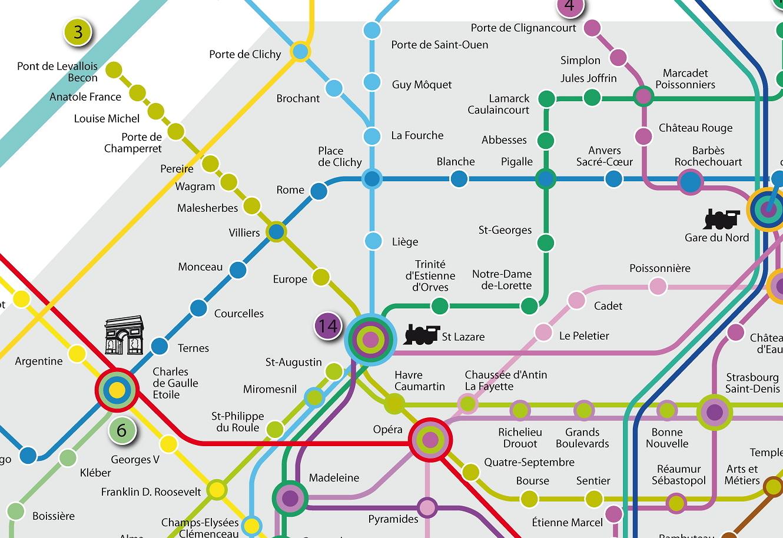 Le plan du m tro parisien est enfin lib r - Plan du peripherique parisien les portes ...