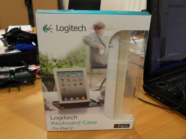 Logitech boîte clavier iPad