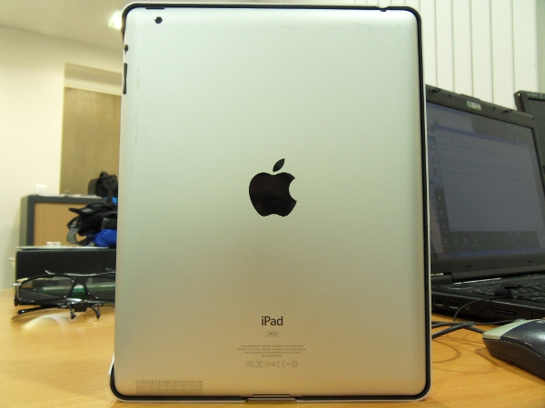 iPad 2 dans le Logitech Tablet Case