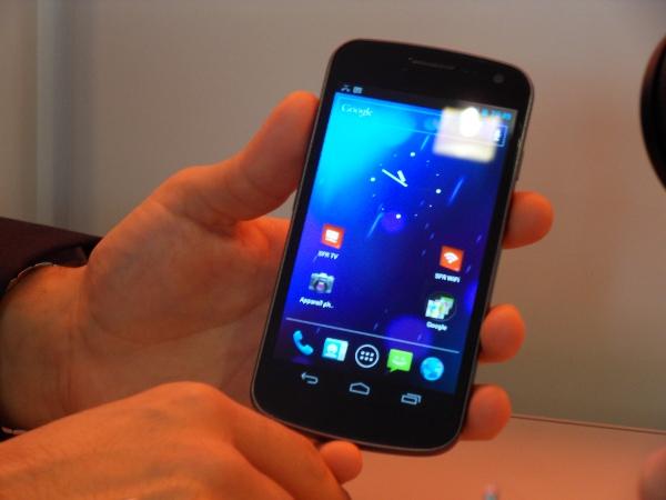 Samsung Nexus Prime - interface