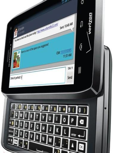 Motorola Droid 4 - smartphone