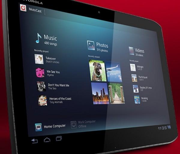 tablette Motorola Xoom 2