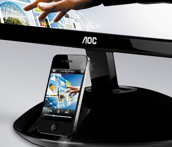 moniteur iPhone AOC