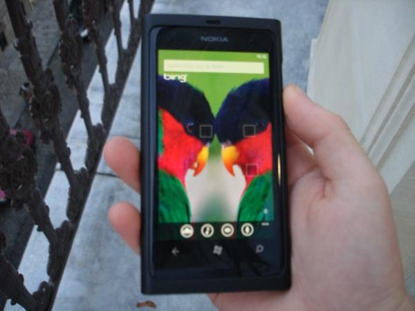 Nokia Lumia 800 Bing