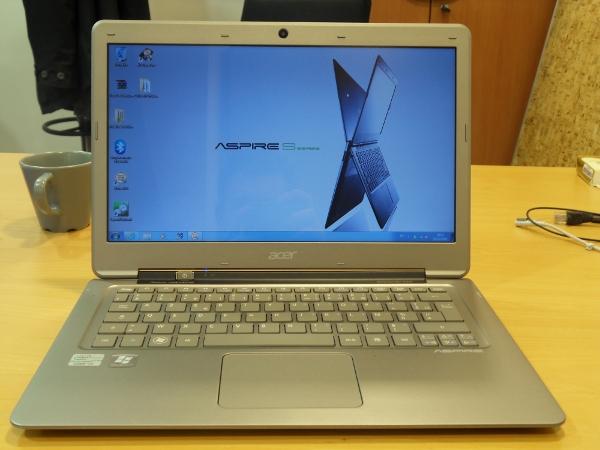 Acer ultrabook Aspire S3