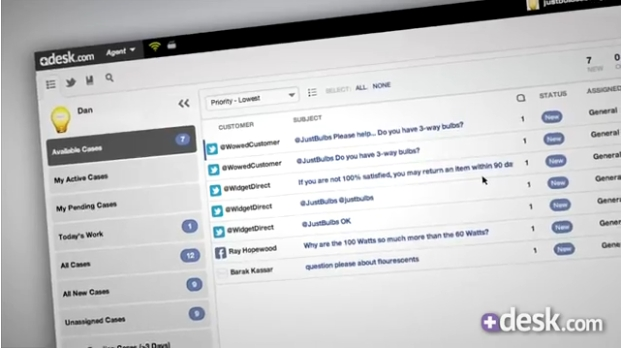 Salesforce Desk.com CRM