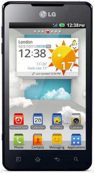 LG 3D Max smartphone