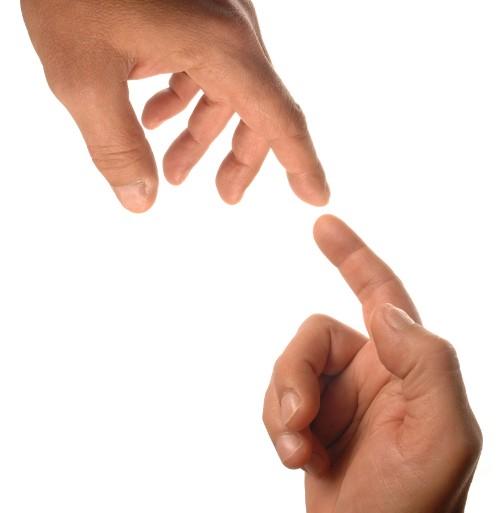 mains tendues alliance partenariat accord