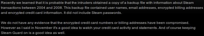 piratage de Steam