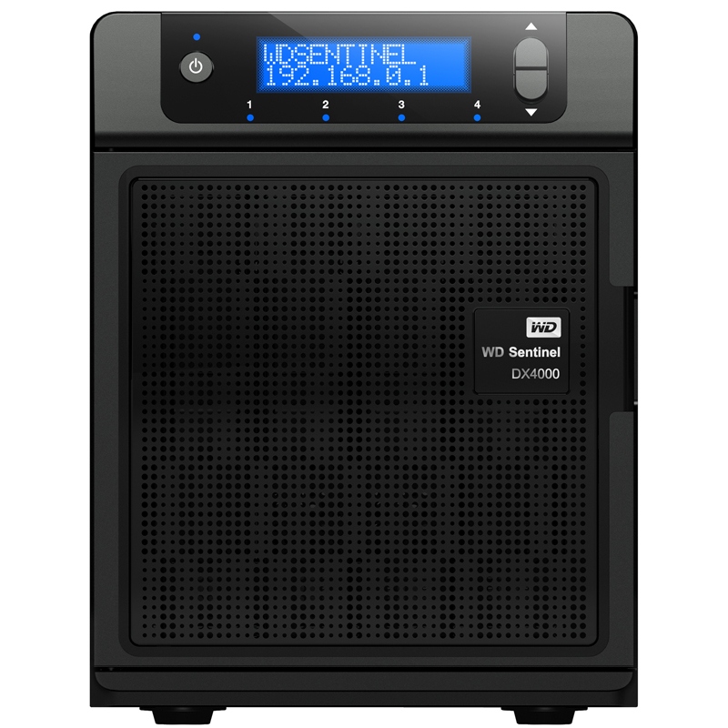 Western Digital Sentinel DX4000 NAS - BIG