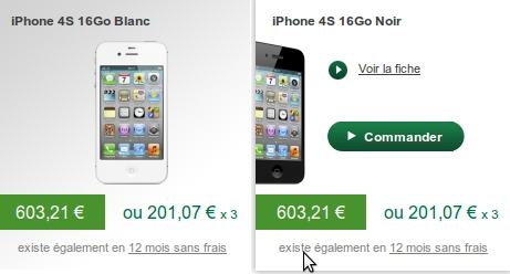 iPhone B&You Bouygues Telecom