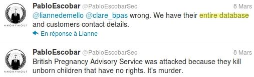 Twitter Pablo Escobar