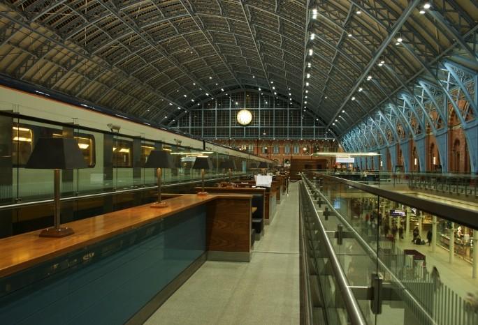 Eurostar gare de St-Pancras