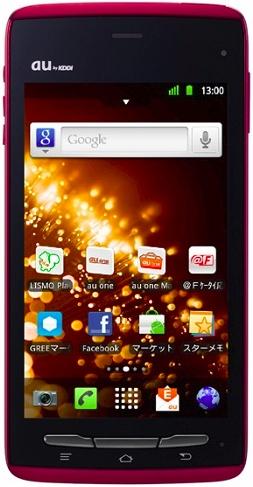 Fujitsu Arrows smartphone