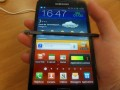 Samsung Galaxy Note smartphone interface