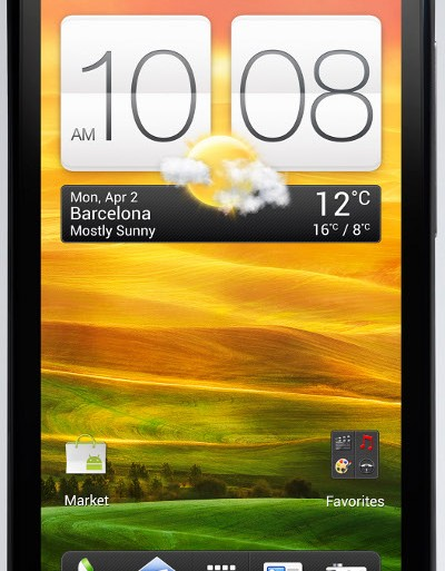 HTC One S smartphone