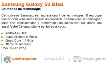 Orange Galaxy S3