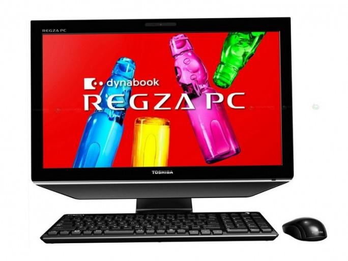 Toshiba all-in-one Regza PC