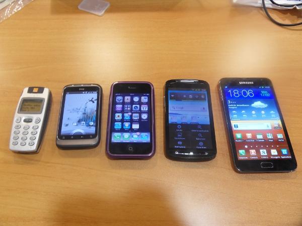 comparatif smartphones - Galaxy Note