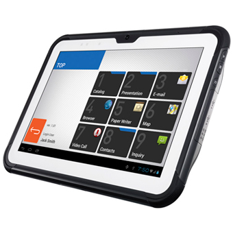 tablette semi-durcie Casio Android