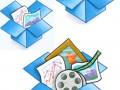 logos de Dropbox cloud
