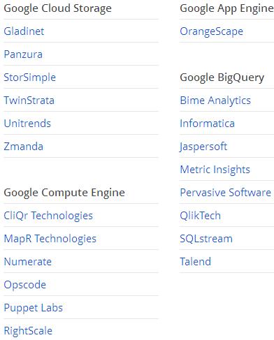 Google Cloud Platform Partners