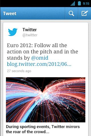 Twitter 3.3 pour Android et iOS