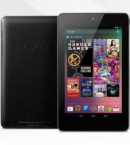 Google Nexus 7 tablette Android