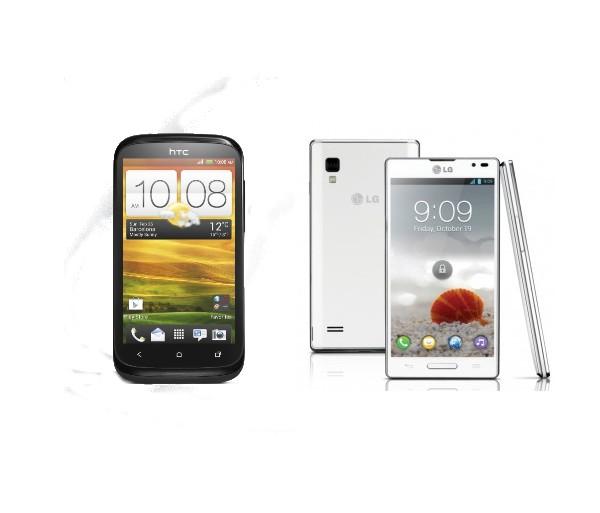 HTC Desire X et LG Optimus L9 : smartphones