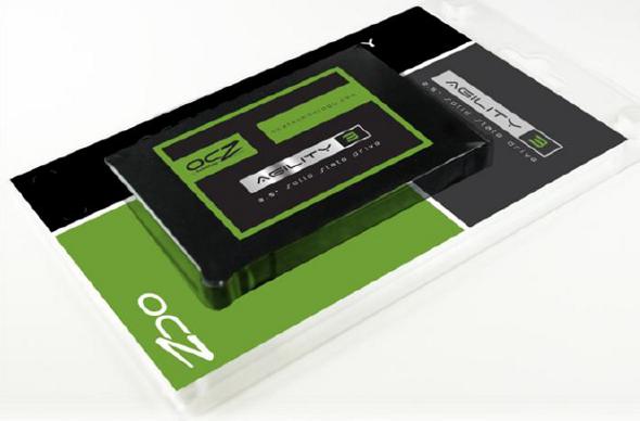 SSD OCZ Agility 3 gravure 20 nm