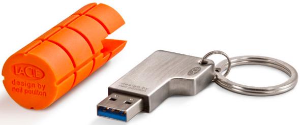 clé USB LaCie RuggedKey