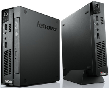 Lenovo ThinkStation m72e format Tiny