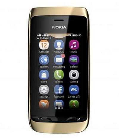 Nokia Asha 308 smartphone