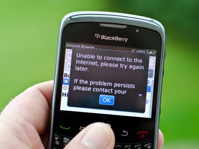 BlackBerry smartphone ICE Etats-Unis sécurité