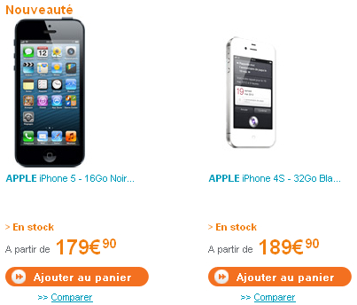 Bouygues Telecom iPhone 5