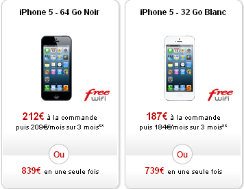 Free Mobile iPhone 5