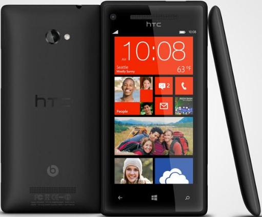 HTC 8X smartphone Windows Phone 8