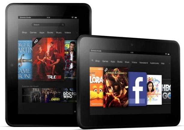 Amazon Kindle Fire HD : modèles 4G