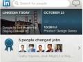 application LinkedIn pour iPad