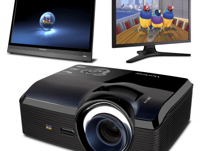 ViewSonic gamme 2012 vidéoprojecteur Smart PC écran WQHD